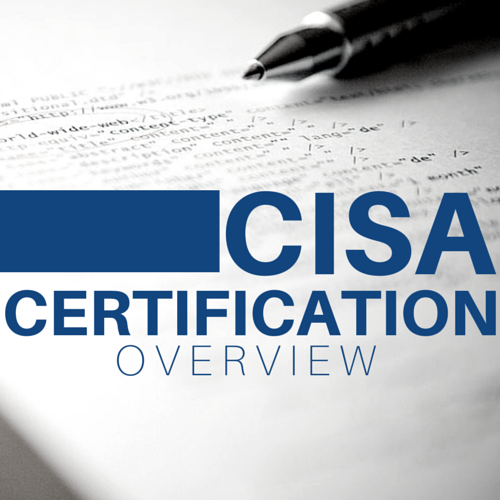 CISA Certification